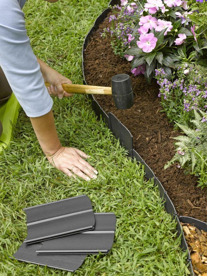 1001 Idees Deco Fantastiques Avec Bordure De Jardin Parterre De Fleurs Bordure Jardin Bordure En Plastique