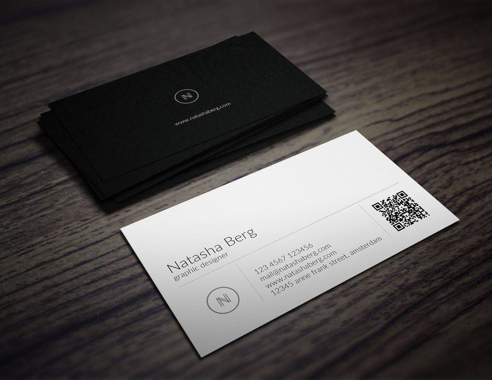 minimal business card vol 01 - Online Business Card Maker Free Printable