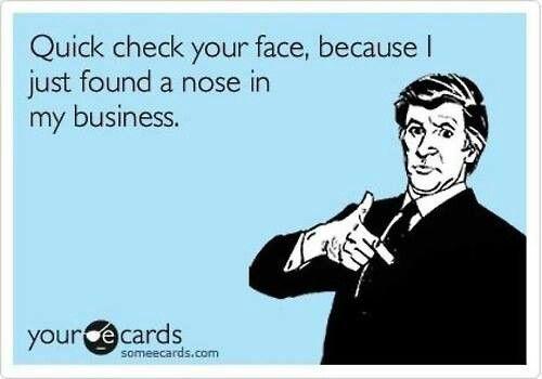 Check yo' face! Haha!