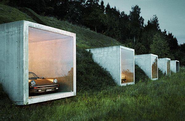 Unforgettable Underground Homes | Underground garage, Architecture ...