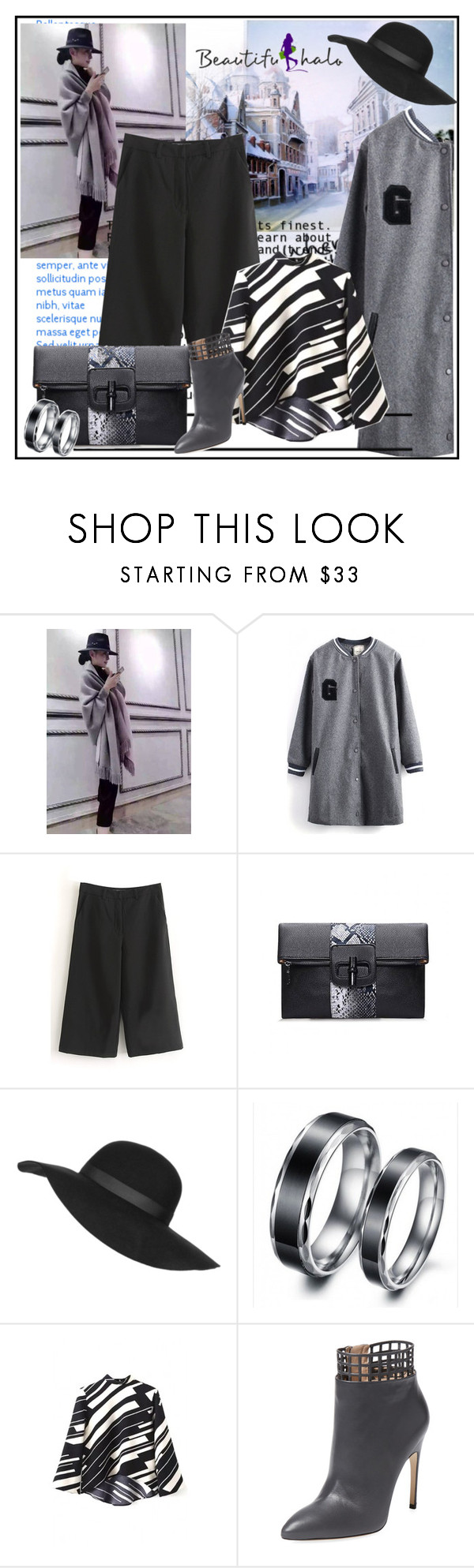 """""""Beautifulhalo.com"""" by lip-balm ❤ liked on Polyvore featuring lilygirl, WithChic, Topshop, Sergio Rossi and beautifulhalo"""