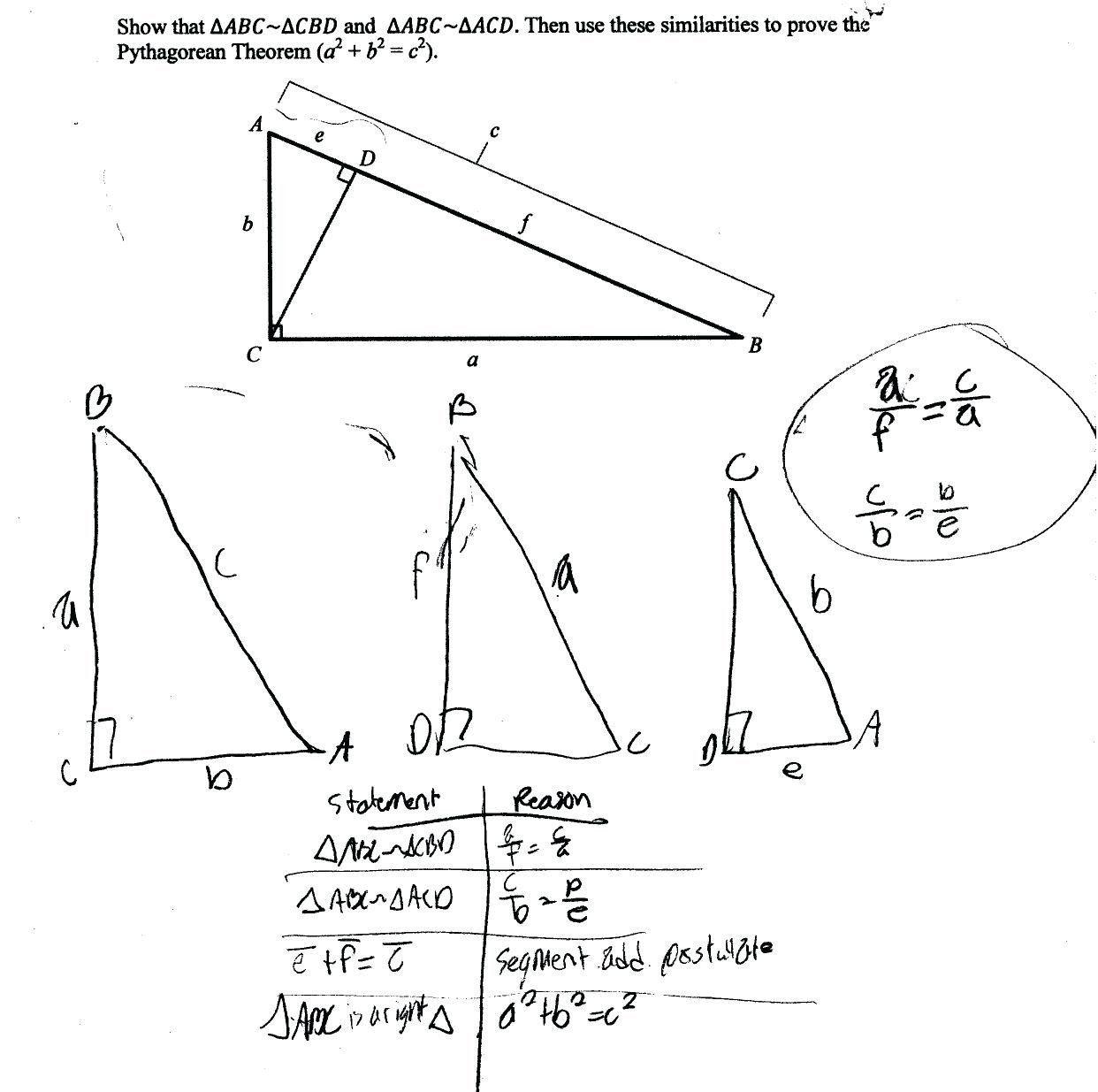 Pythagorean theorem Puzzles Worksheet Pythagorean Triples