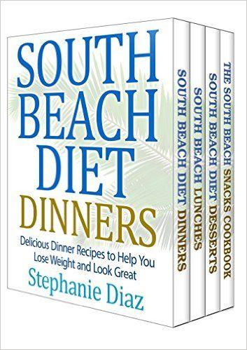 The South Beach Cookbooks Box Set: Lunch, Dinner, Snack and Dessert Recipes, Stephanie Diaz - Amazon.com