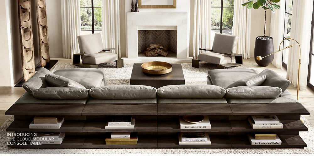 Shop the Cloud collection Restoration hardware living
