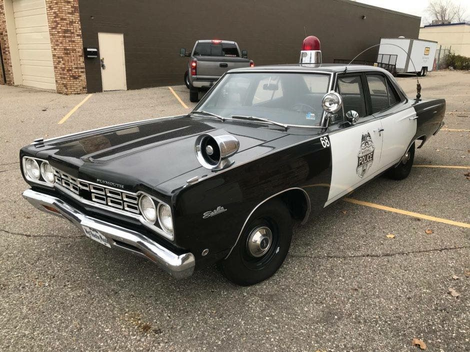 68 Belvedere Police Cars Plymouth Satellite Old Police Cars