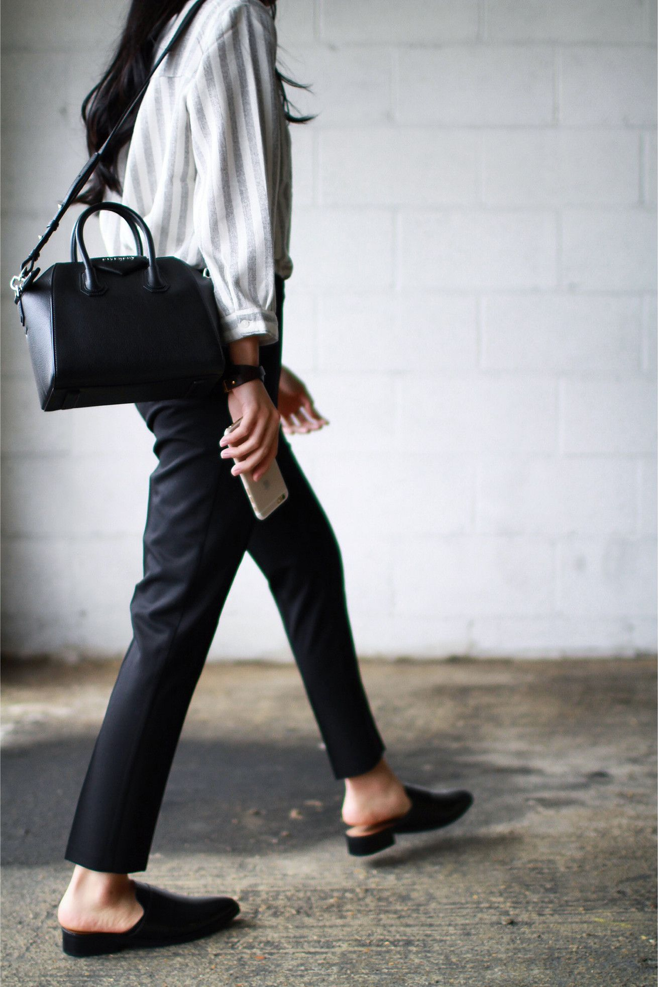 7d7ed14abc1d Top - Just Female Trousers - Topshop Shoes - Mango Bag - Givenchy Mini  Antigona Bracelet - Celine