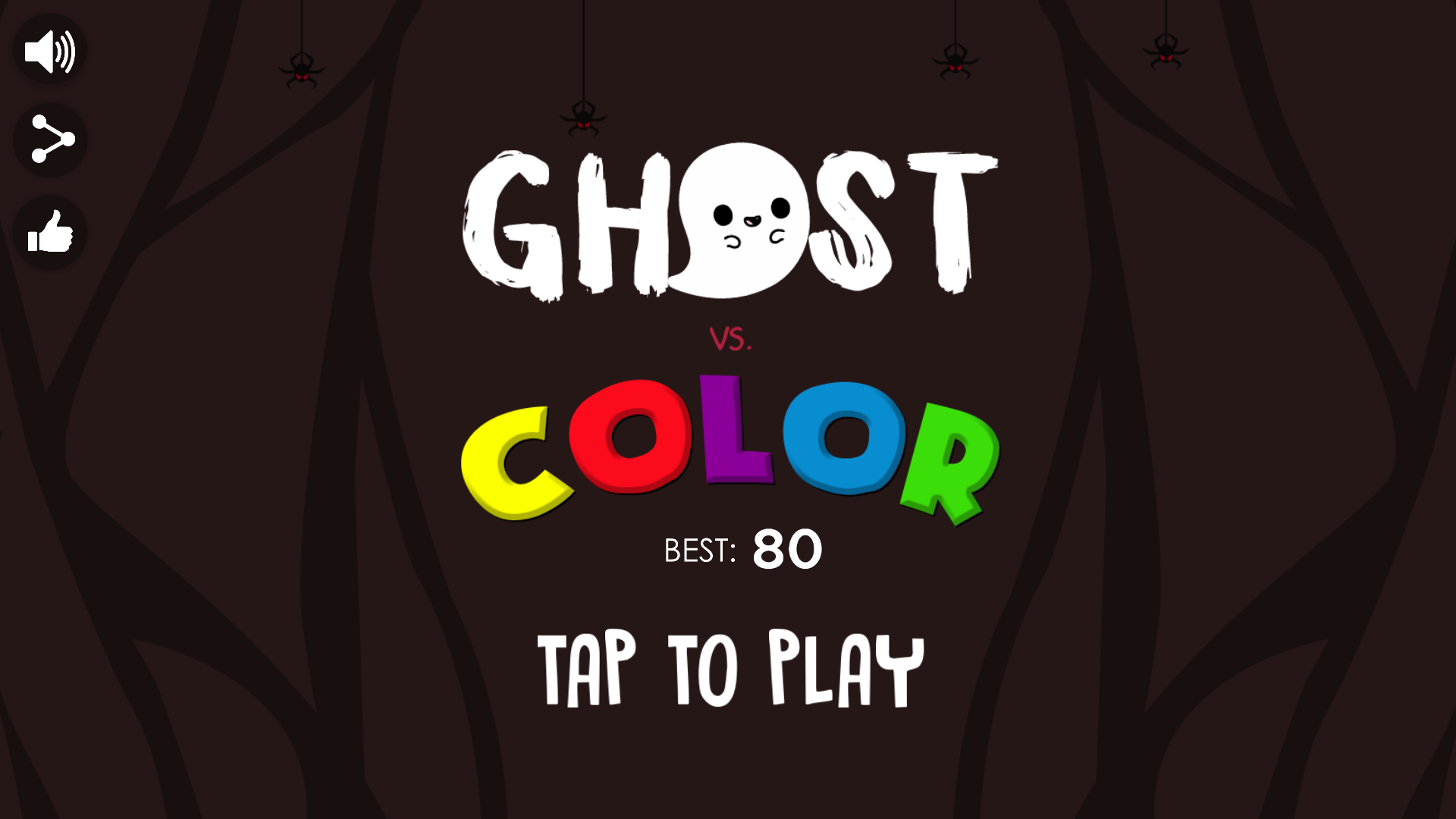 Ghost vs  Color + Admob (Android Studio & Eclipse & Buildbox