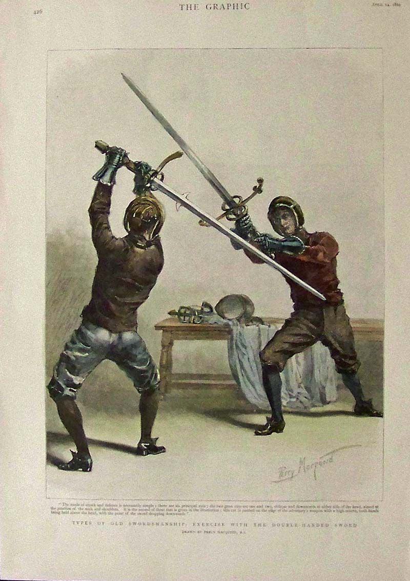Double handed | Historical European Martial Arts/ Western