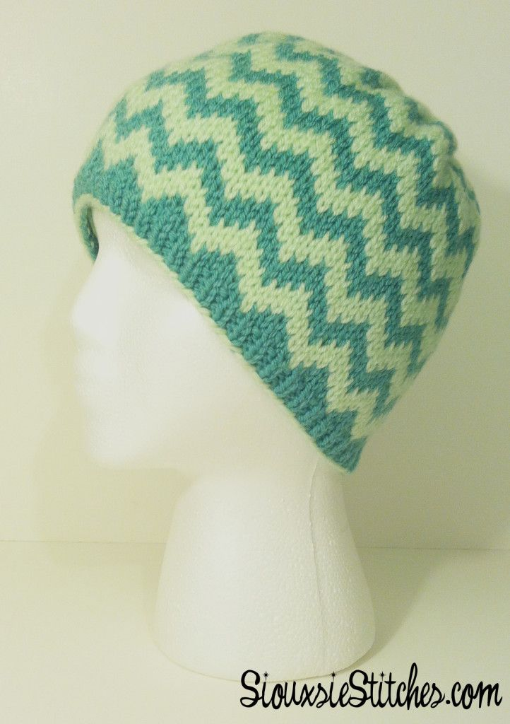 Customizable chevron hat design with two colors or more from ...