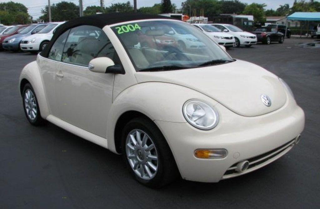 2004 Volkswagen Beetle GLS 2.0L Convertible 5,300