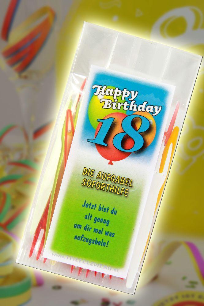 Die aufgabel soforthilfe zum 18 geburtstag gefeiert und - Pinterest 18 geburtstag ...