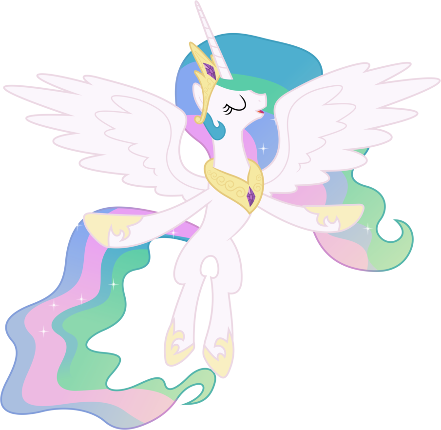 Princess Celestia Flying  My little pony friendship is ...