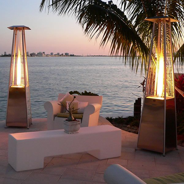 Bonfire Patio Heater Woodlanddirect Heaters Tall