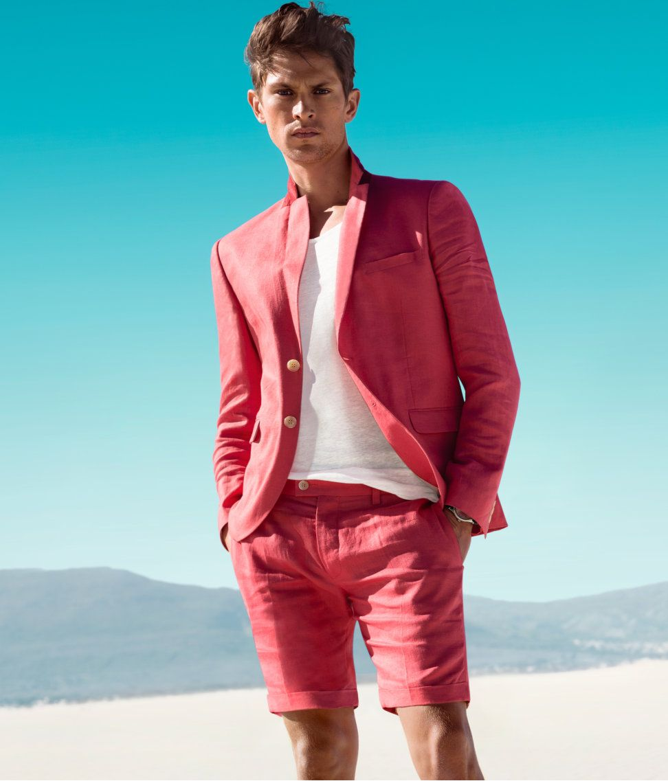 Salmon pink shorts baby | Guys. . . | Pinterest | Men's fashion