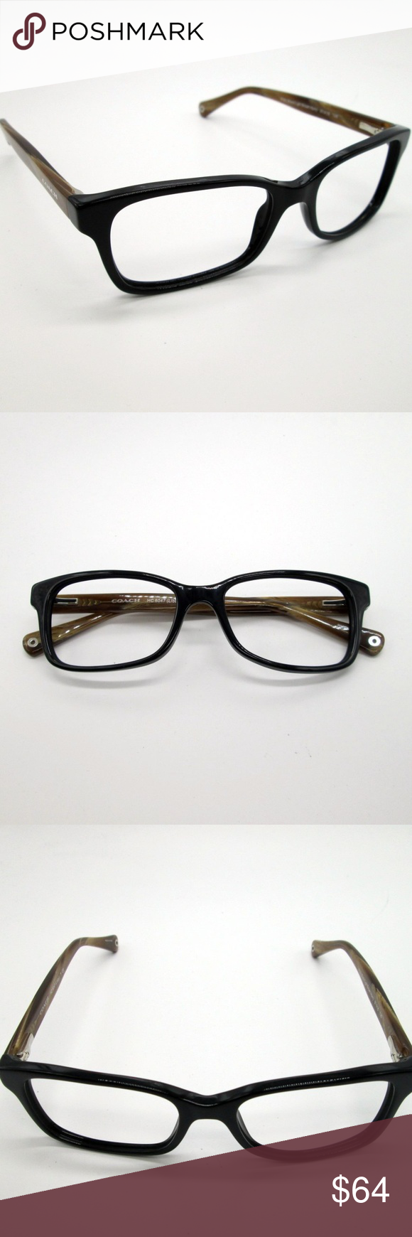 4d24df27af865 Coach HC6047 Unisex Eyeglasses DAE403 Coach HC6047 Unisex Eyeglasses DAE403  Frame is in Excellent