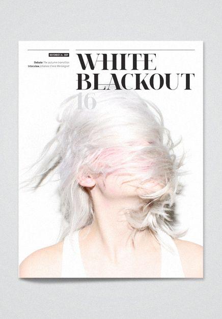 white blackout