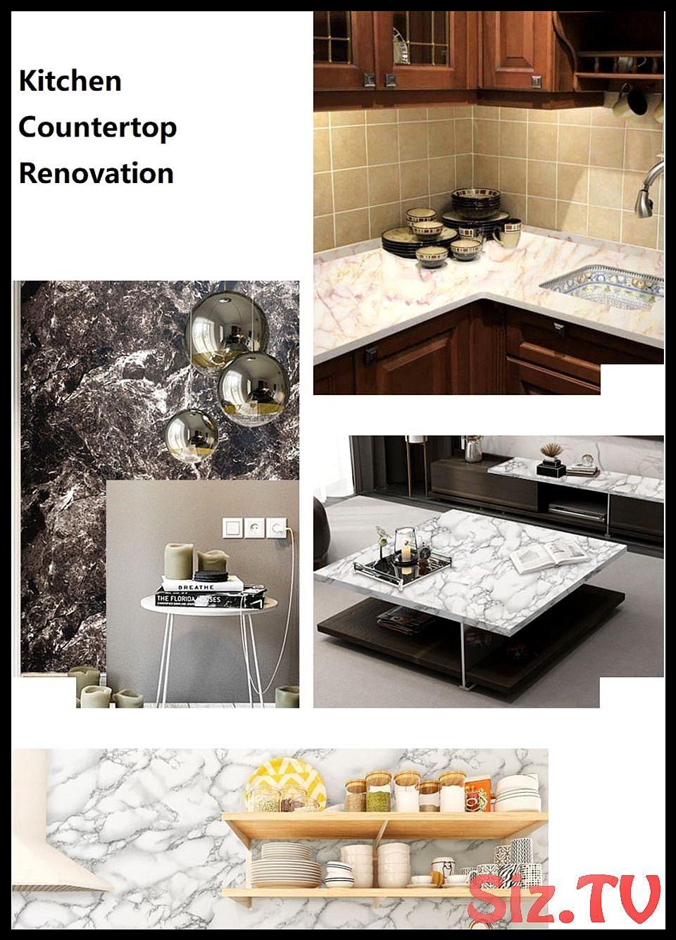Waterproof Pvc Vinyl Shelf Liner Marble Contact Paper For Kitchen Countertops Bathroom Self Adhesive Wallpaper Home Kitchen Countertops Countertops Vinyl Shelf