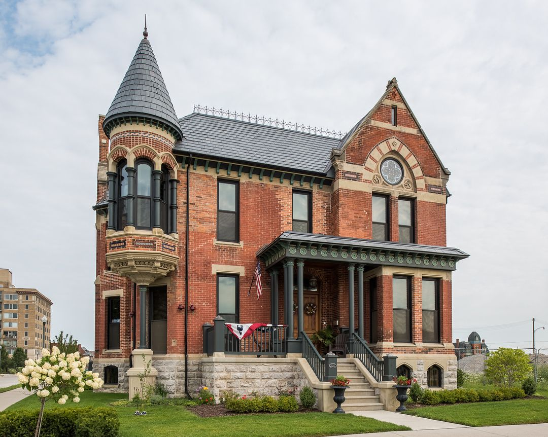 Ransom Gillis House Detroit Michigan Architecture House