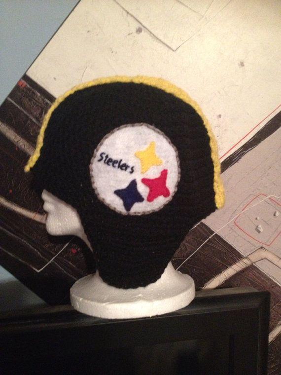 8dffde0b0d7 Pittsburg Steelers Helmet Hat by CreativeDesignsByMel on Etsy