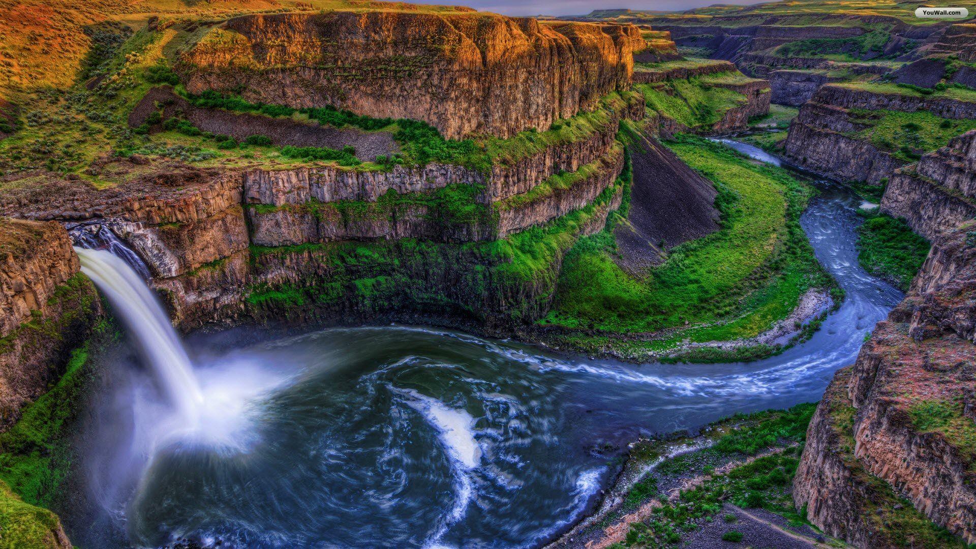 Marvelous landscape google search landscape pinterest hd waterfalls canyon grand teton national park wyoming u voltagebd Gallery