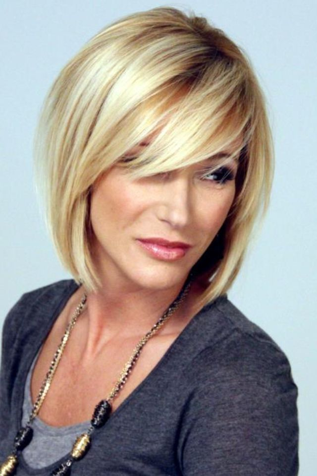 20 Easy Short Haircuts for Women: Everyday Hairstyles | Side sweep ...