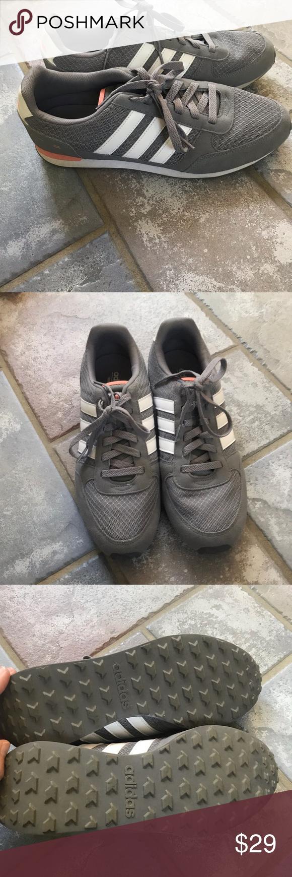 Adidas Neo Grey Sneakers | Grey sneakers, Adidas neo, Sneakers