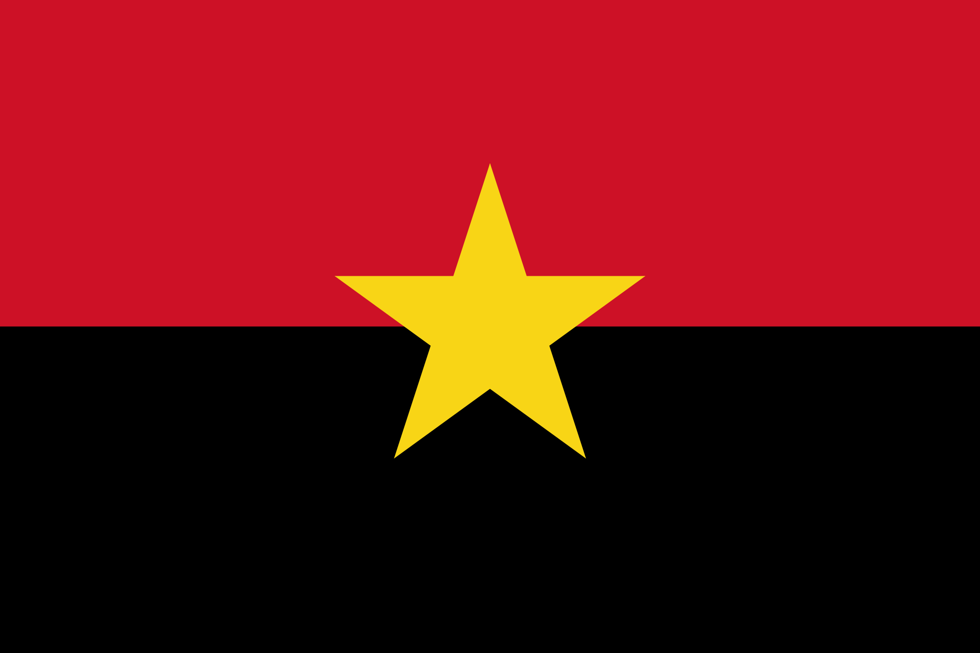 People S Movement For The Liberation Of Angola Symbols Flag History