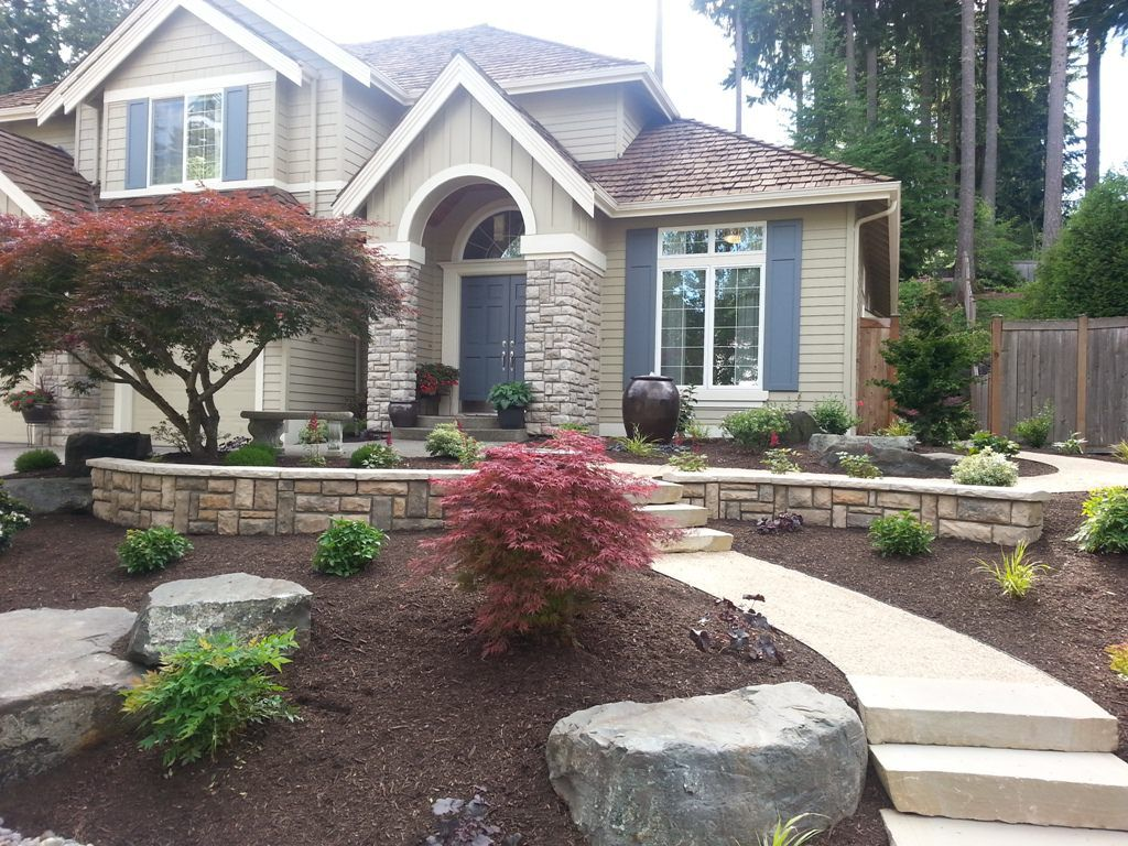 City Front Yard Landscaping Ideas Part - 48: Landscape Products Landscaping Home Front Yard Pictures Page Curb Appeal  Refers To How The Corners Of