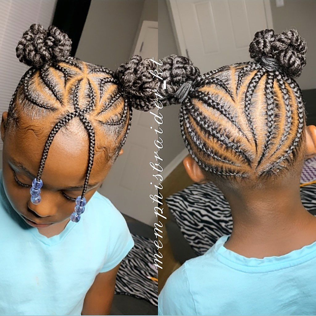 Every Braid Is Just As Important As The 1st One Approach With Consistency Neatbraids 101 Lil Girl Hairstyles Kids Hairstyles Girls Kids Hairstyles