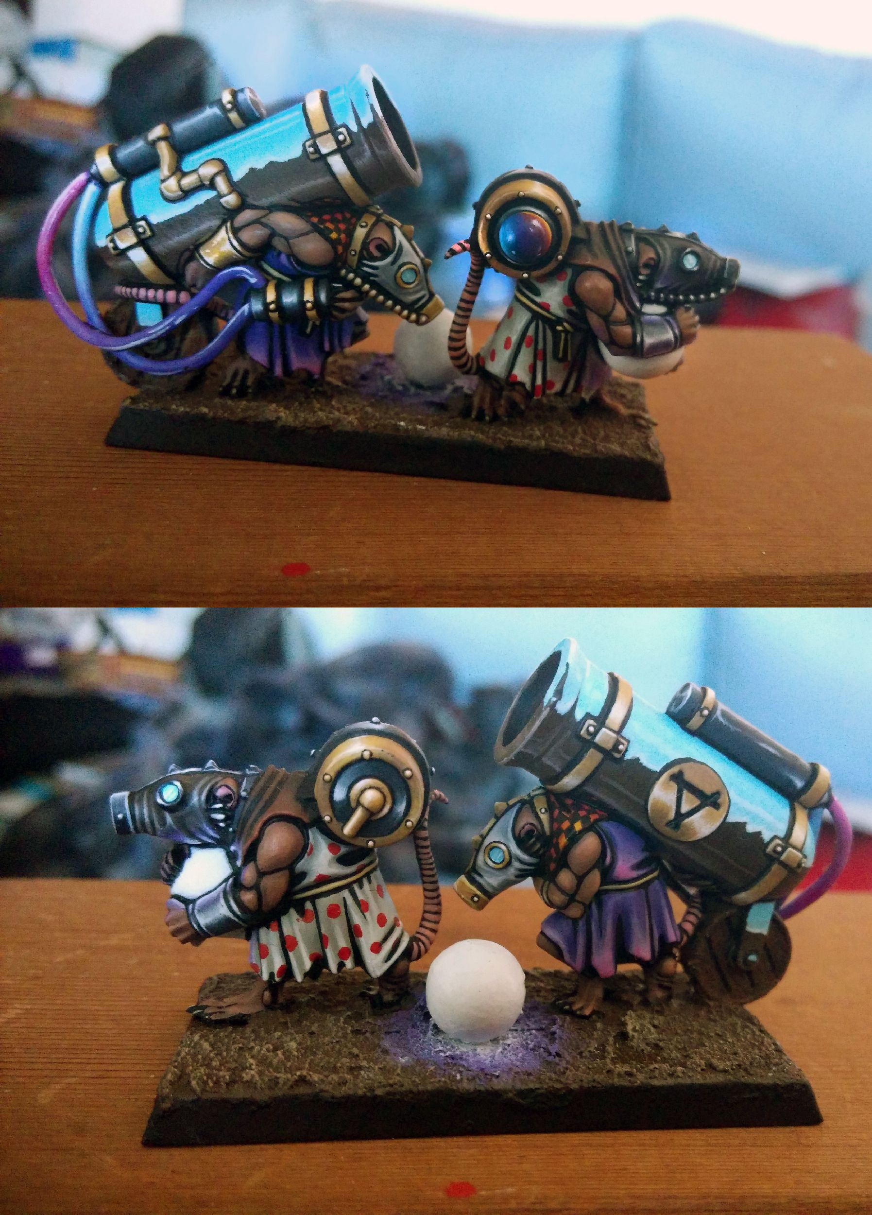 Awesome NMM on this skaven model.