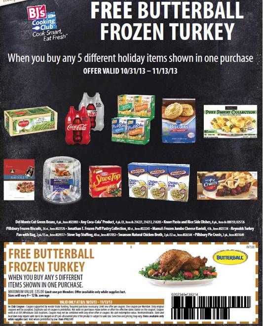 picture regarding Bjs One Day Pass Printable referred to as Order your Cost-free 60 Working day Subscription Turkey at BJs Wholesale
