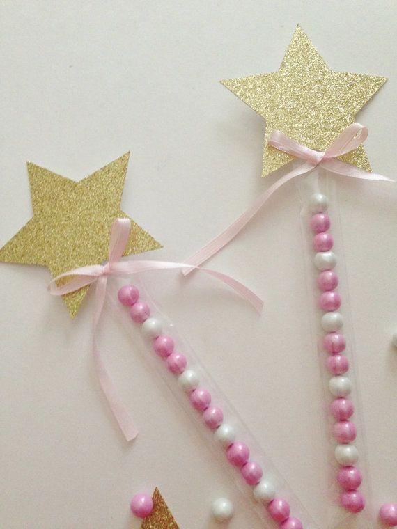 Twinkle twinkle little star party pink and gold party for Birthday wand