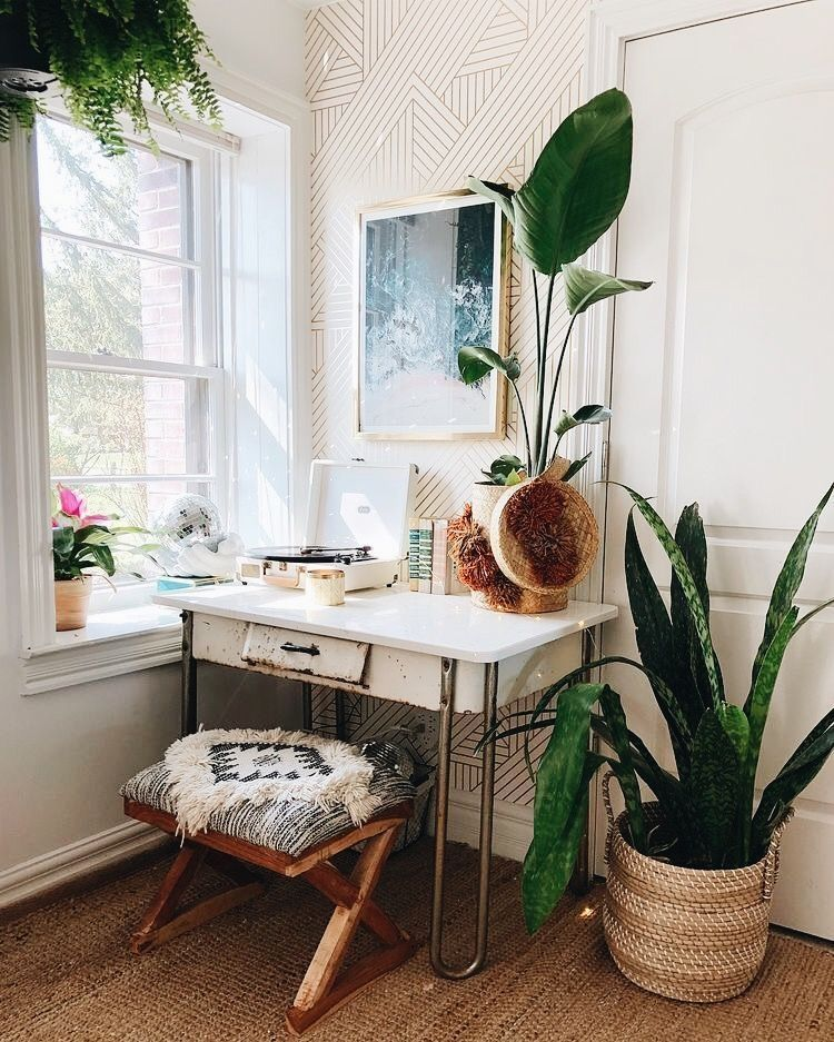 Gorgeous 50 Bohemian Office Decor Inspiration Http Anchordeco Com 2019 04 23 50 Bedroom