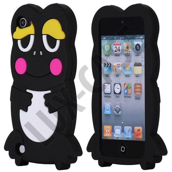 Froggy (Musta) iPod Touch 5 Suojakotelo