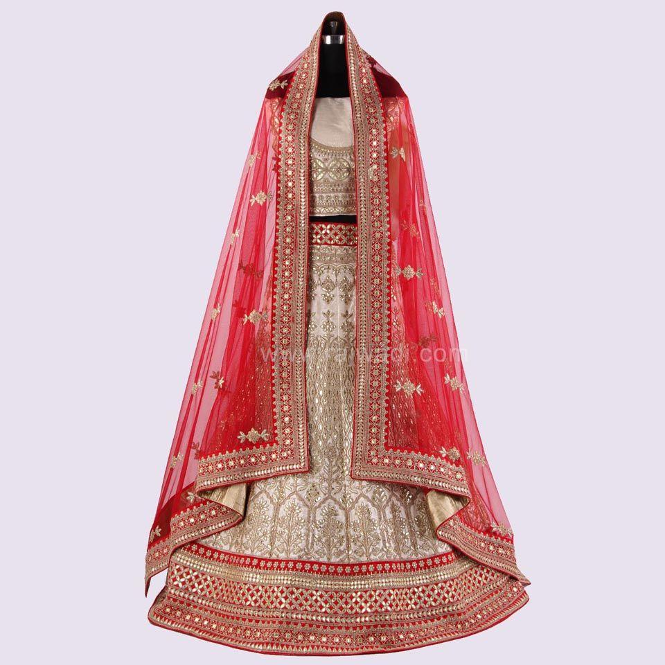Raw silk wedding dress  Traditional Lehenga Choli in Raw Silk Fabric rajwadi lehengacholi