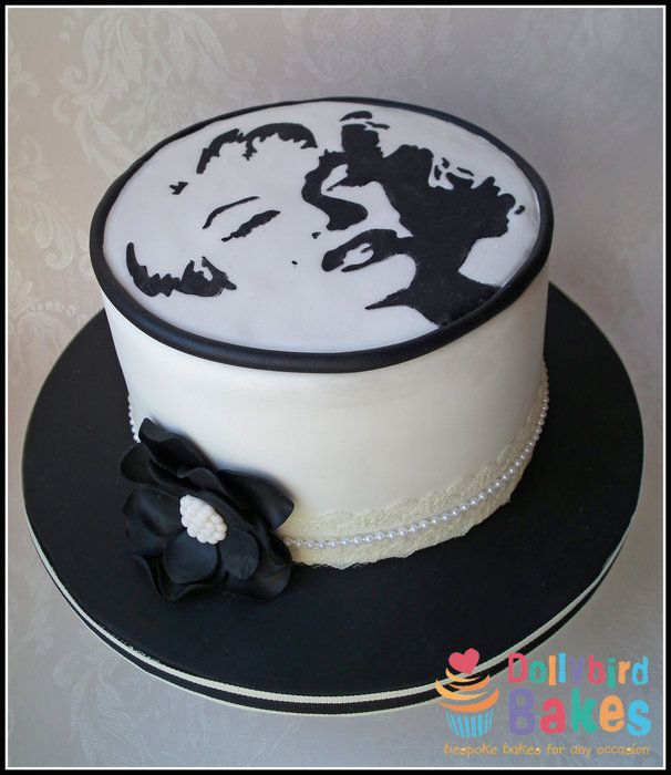 Marilyn Monroe Cake Dollybird Bakes My Cakes Pinterest Cake