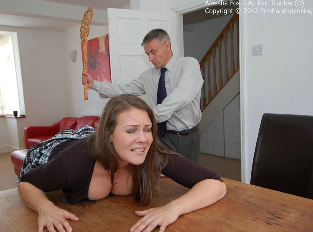 Naughty spanked wife