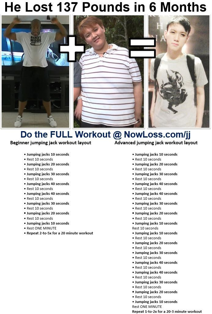 Jumping jack workout to lose weight super fast Workout