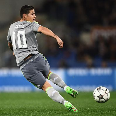 James Rodriguez during ChampionsLeague game vs Roma. 17.2.16