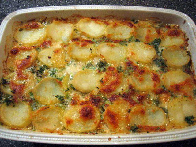 Gratin De Pollo Y Papas Recetas De Pollo Cooking Recipes Food Recipes