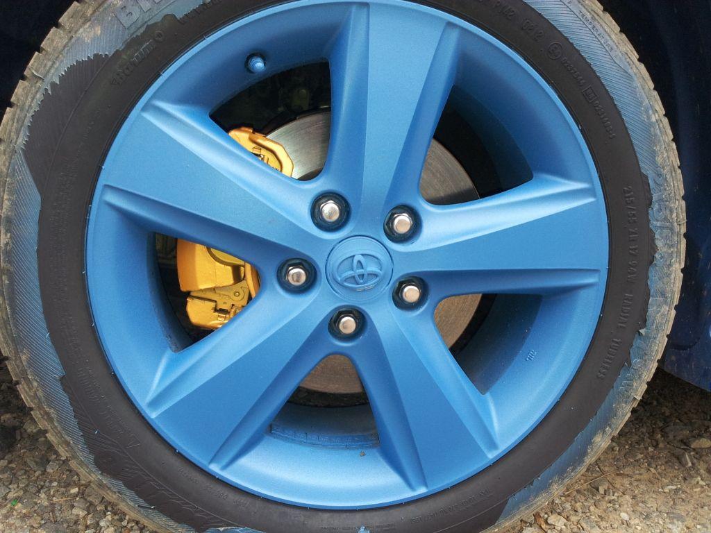Nitro S Sunset Blue Wheels Plasti Dip My Ride From Dip