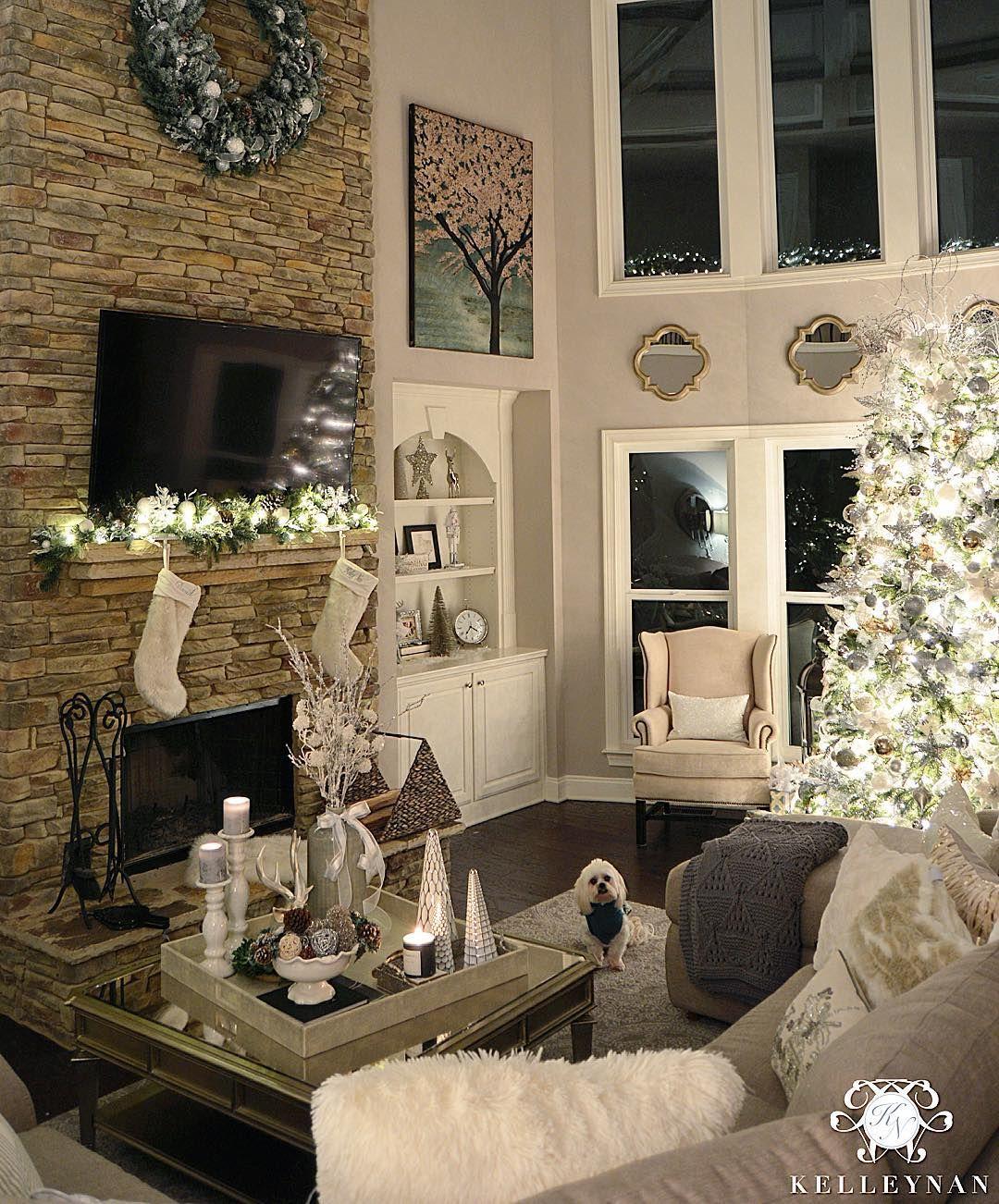 Great Room Decorating Ideas: Kelley Nan (@kelleynan) • Instagram Christmas Tree At