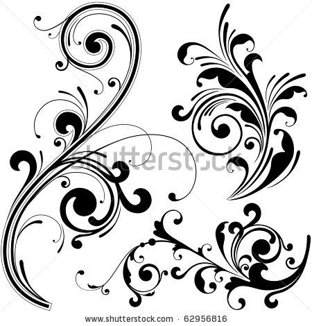 floral design elementsonfocus, via shutterstock   clip art