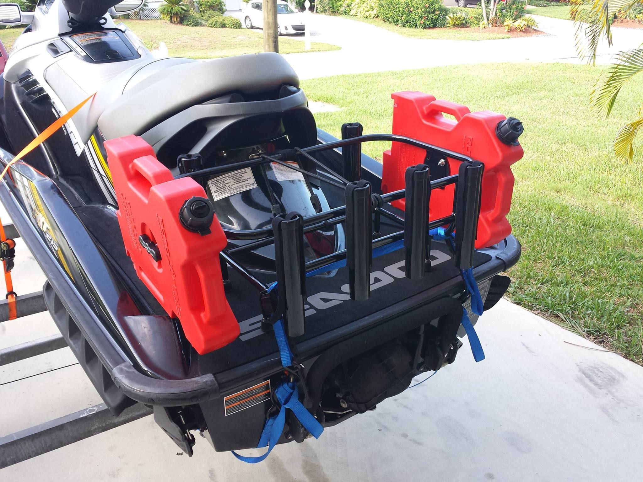 Get the best jet ski fishing racks on the market today for Best jet ski for fishing