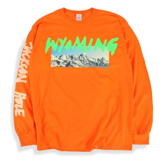 Kanye West Ye Wyoming Long Sleeve T Shirt Listening Party Etsy Long Sleeve Jersey Shirt Long Sleeve Tshirt Men Long Sleeve