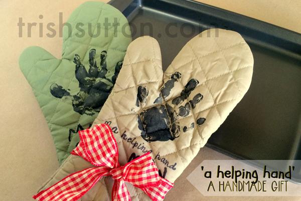 Handmade Gift Helping Hand for Moms, Dads, Grandparents, Teachers