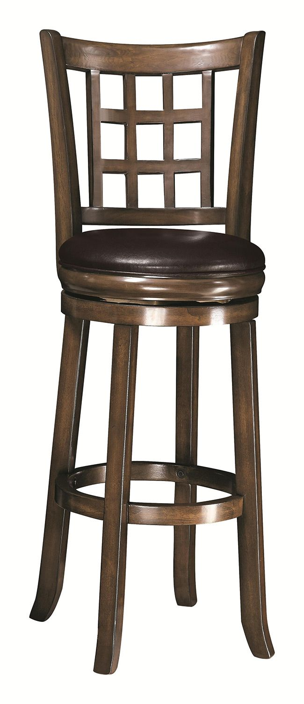Coaster 29 Inch Wooden Bar Stool Coaster Furniture Bar Stools Swivel Bar Stools 29 inch bar stools with back