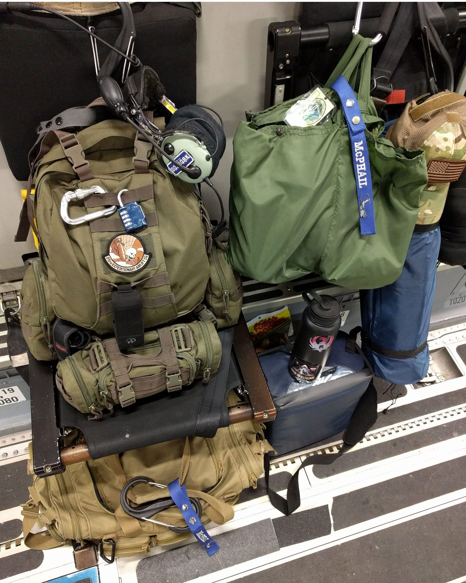 US Deployment Flight Bag Military Backpack Air Force Army Tactical Pack Knapsack