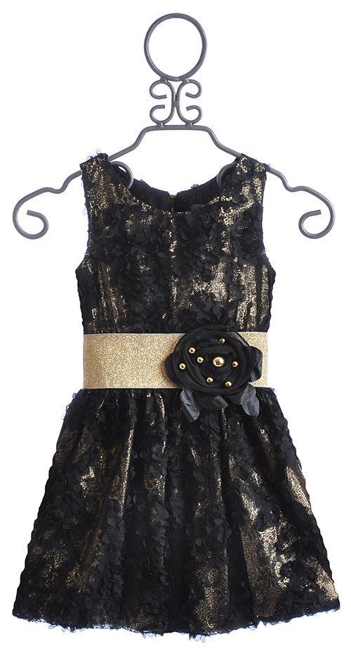Zoe Ltd Tween Black Special Occasion Dress Christmas