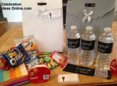 Wedding Guest Hotel Gift Bag Ideas